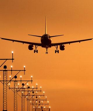 Fra og til flyplassen