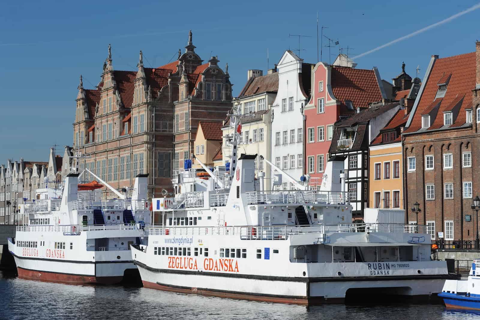 Båtturer i Gdansk og til Sopot